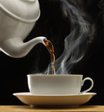 Hot coffee. Stock Images