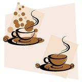 Hot Coffee Royalty Free Stock Photos