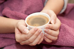 Hot Coffee Royalty Free Stock Images