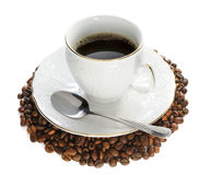 Hot Coffee. Royalty Free Stock Photography