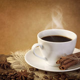 Hot coffee stock images