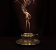 Hot coffee Royalty Free Stock Photo