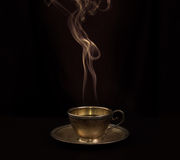 Hot coffee Stock Photography