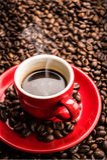 Hot coffee - caffè caldo Royalty Free Stock Photography