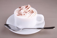 Hot coffee or chocolate Stock Image