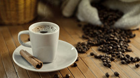 Hot Coffee Cup Stock Photography