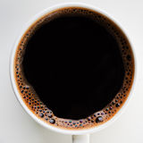 Hot coffee cup Stock Images