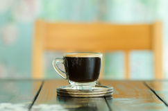 Hot coffee Royalty Free Stock Photography