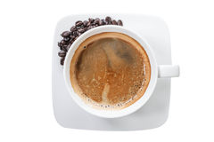 Hot coffee cup. Stock Photography