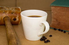 Hot Coffee Cup Royalty Free Stock Image