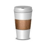 Hot Coffee Cup Royalty Free Stock Images