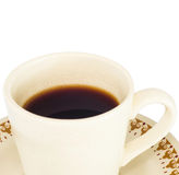 Hot Coffee Cup. Royalty Free Stock Photography