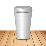 Hot Coffee Cup Stock Image