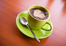 Hot coffee drink Stock Photography