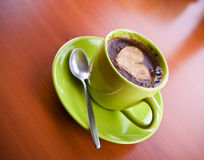 Hot coffee drink Stock Images