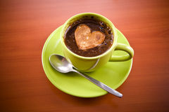 Hot coffee drink Royalty Free Stock Image