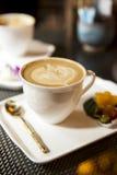 Hot Coffee late Stock Image