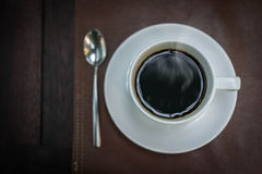 Hot coffee in the morning Royalty Free Stock Photography