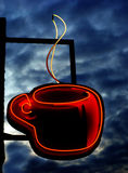 Hot Coffee Sign Royalty Free Stock Photo