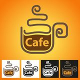 Hot Coffee symbol Stock Images