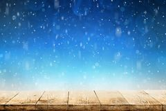 Winter Christmas background stock photos
