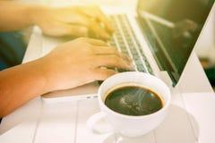 Hot coffee royalty free stock photos