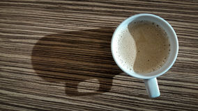 Hot coffee. Royalty Free Stock Photos
