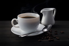 Hot coffee Royalty Free Stock Image