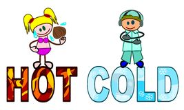 Hot and cold Stock Photography