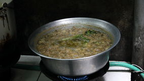 Hot cooking oil Stock Photos