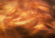 Hot Copper Abstract Stock Photo