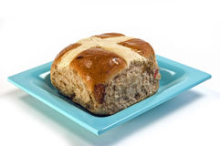 Hot cross bun Royalty Free Stock Image