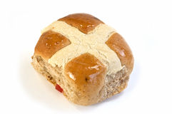 Hot cross bun Stock Image