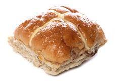 Hot cross bun Stock Photography