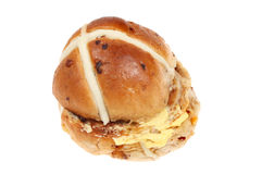 Hot cross bun Stock Photos