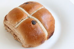 Hot Cross Bun Stock Images