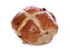 Hot cross bun Royalty Free Stock Images