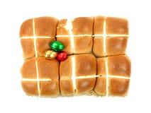 Hot Cross Buns Stock Images