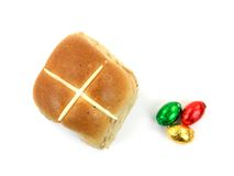 Hot Cross Buns Stock Photography