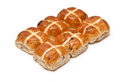 Hot cross buns. Royalty Free Stock Images