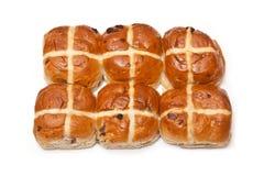 Hot cross buns. Royalty Free Stock Photography