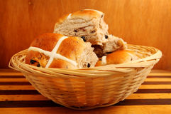 Hot Cross Buns Stock Photo