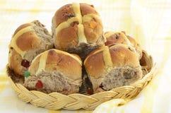 Hot cross buns Royalty Free Stock Photo