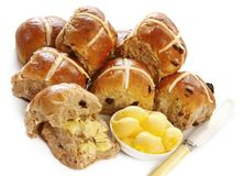 Hot Cross Buns Stock Image