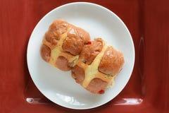 Hot Cross buns Stock Photos