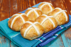 Hot cross buns Royalty Free Stock Photo