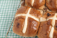 Hot Cross Buns Royalty Free Stock Photography
