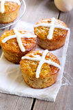 Hot cross cakes Stock Images