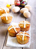 Hot cross cakes Royalty Free Stock Images