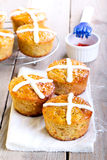 Hot cross cakes Royalty Free Stock Image